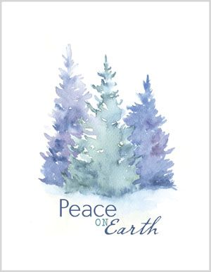 Watercolor Cards Bing Images Watercolor Christmas Cards