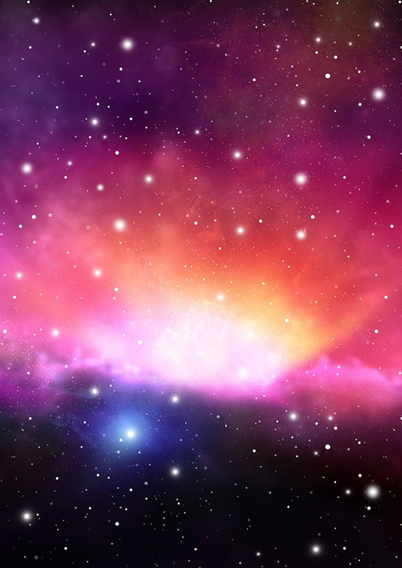 Purple Galaxy Background Scrapbooking Paper Nebula Universe Etsy In 2020 Cosmic Art Galaxy Background Galaxy Art