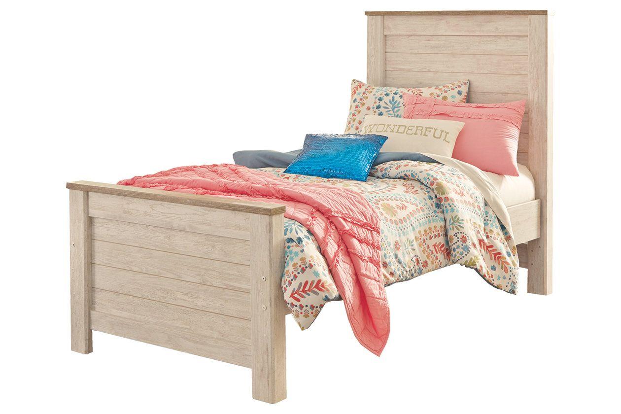 Willowton Panel Bed, Twin Ashley Furniture Panel bed