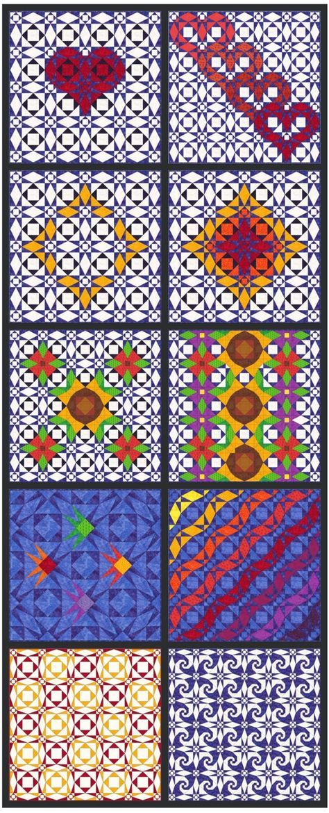 Storm At Sea Quilt Pattern Design Your Own Quilt Paper Piecing New Generations Quilt Patterns