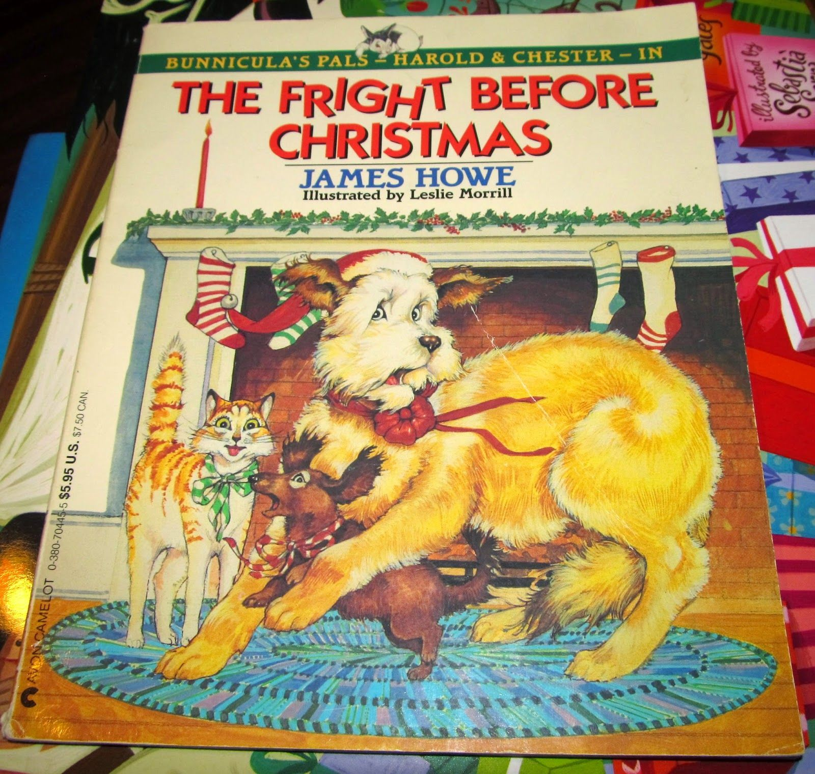 the fright before christmas a bunnicula book by james howe
