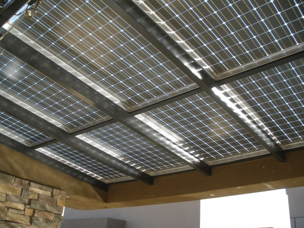 Blurring The Edge Of Bipv Solar Awnings Home Power