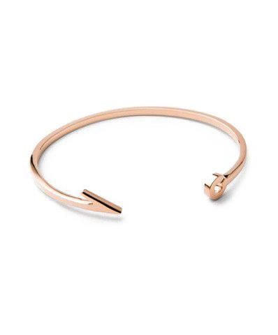 18k Rose Gold Fish Hook Cuff Bracelets Pinterest Bracelet And
