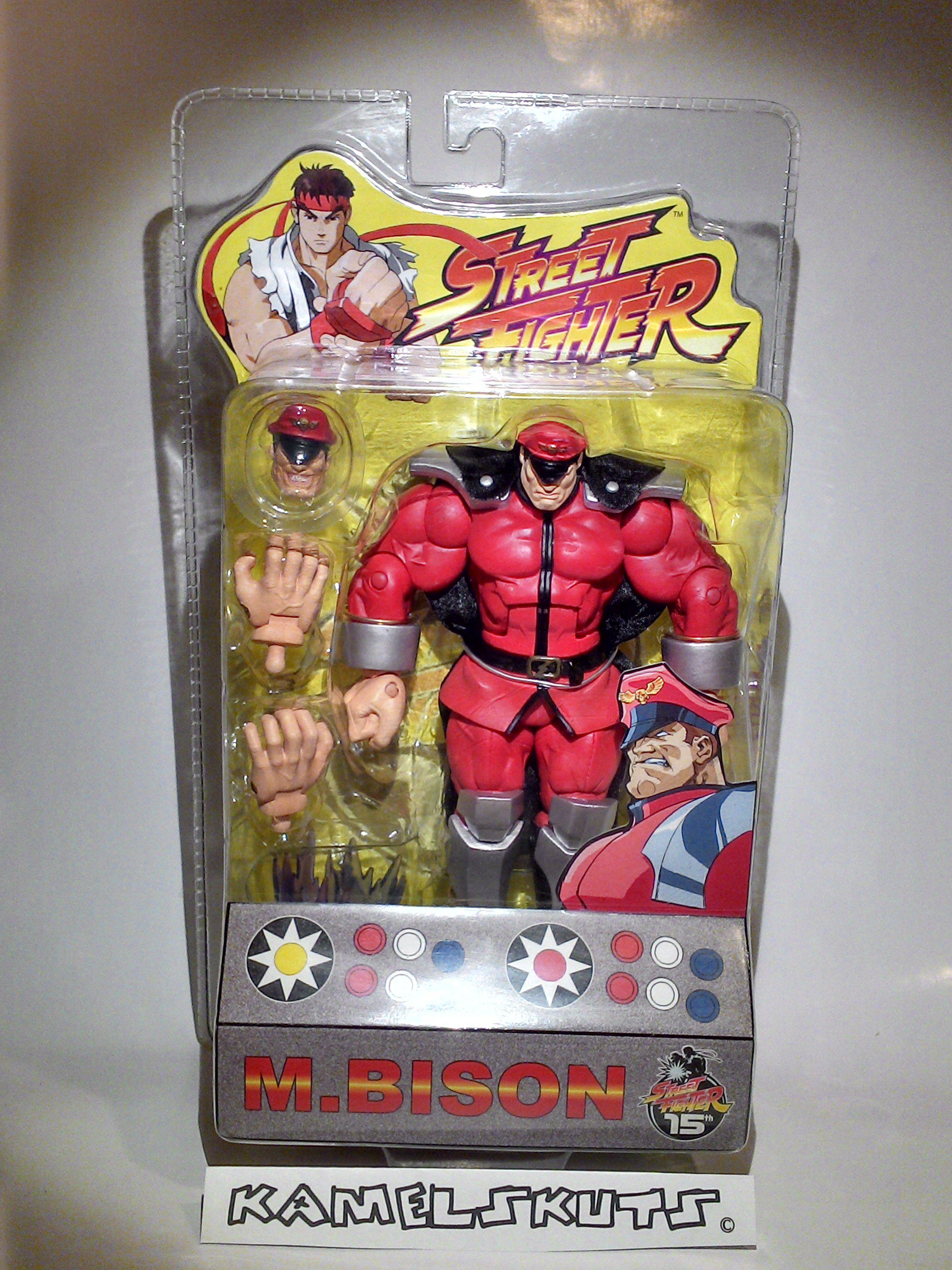 Sota Round 1 M Bison Street Fighter Street Fighter Marvel Action Figures Action Figures