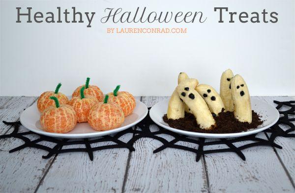 Gotta eat a little healthy Halloween day :)