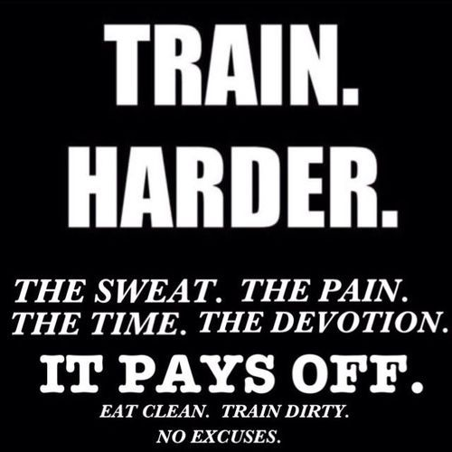 Dirty Yoda Quotes: Train. Harder. #quote #awesome #YouDontTrainToLose