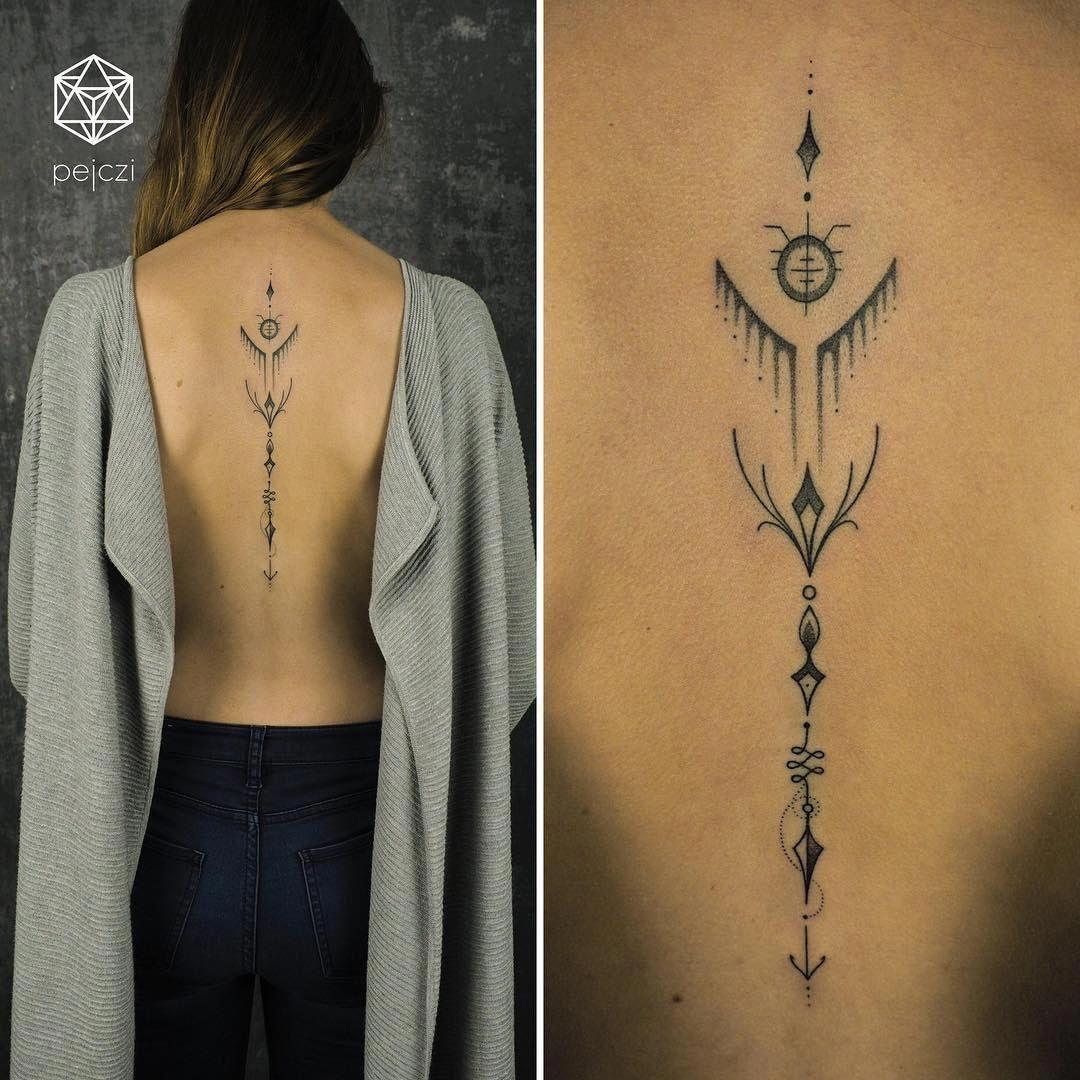 amber rose tattoos on back Tattoosonback Polish tattoos
