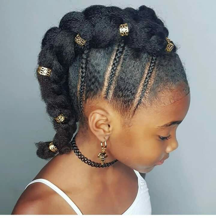 Cute Style Braided Mohawk Hairstyles Kids Braided Hairstyles Black Kids Braids Hairstyles