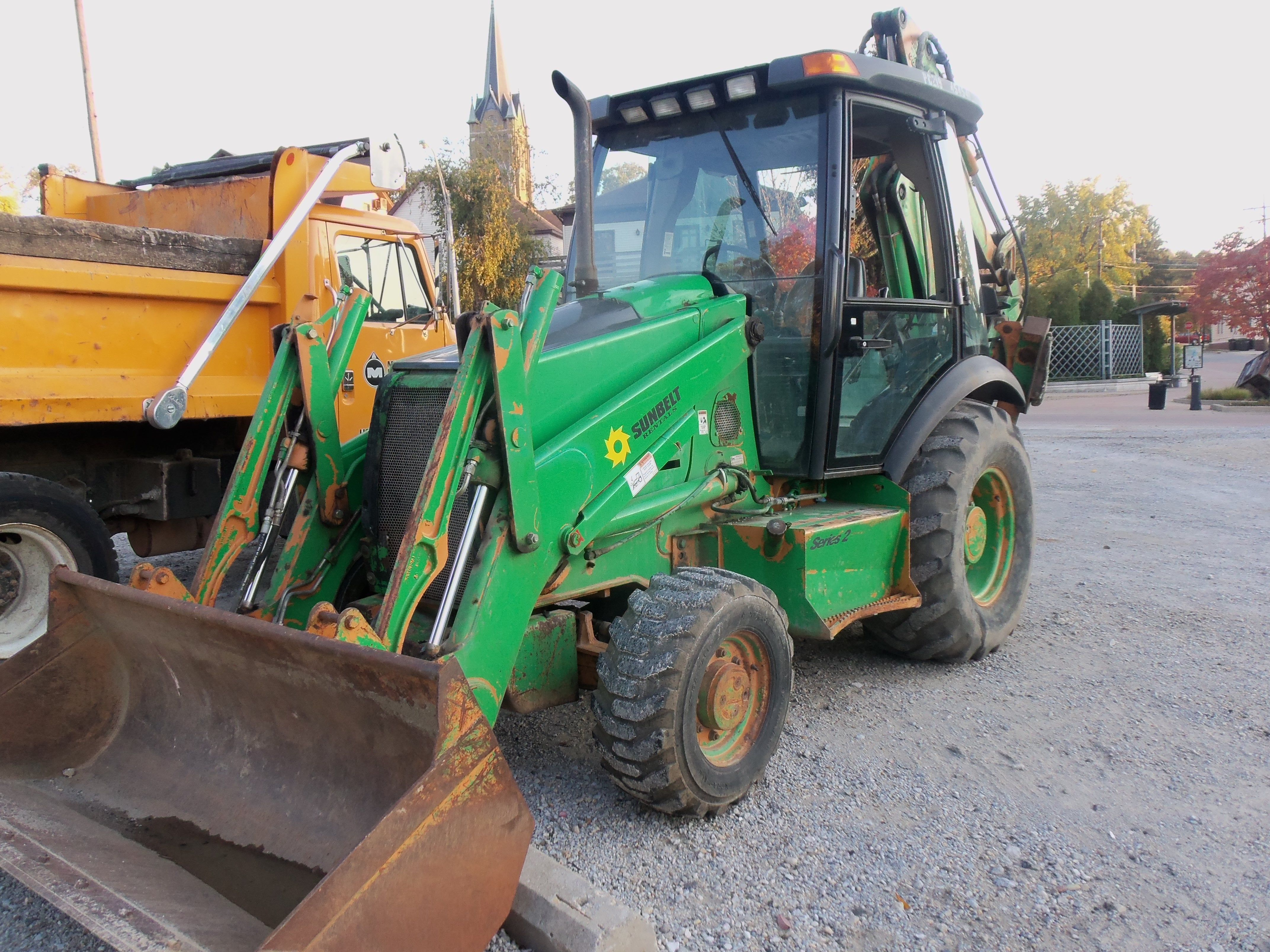 small resolution of case 580m backhoe owned by sunbelt rental