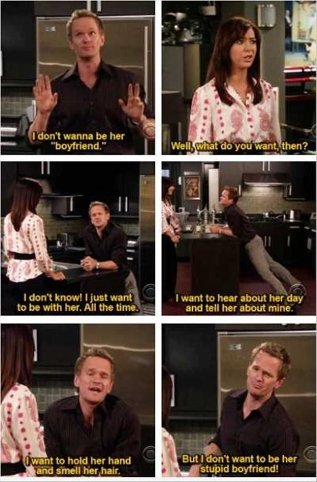 How I Met Your Mother Barney About Robin Himym Pinterest