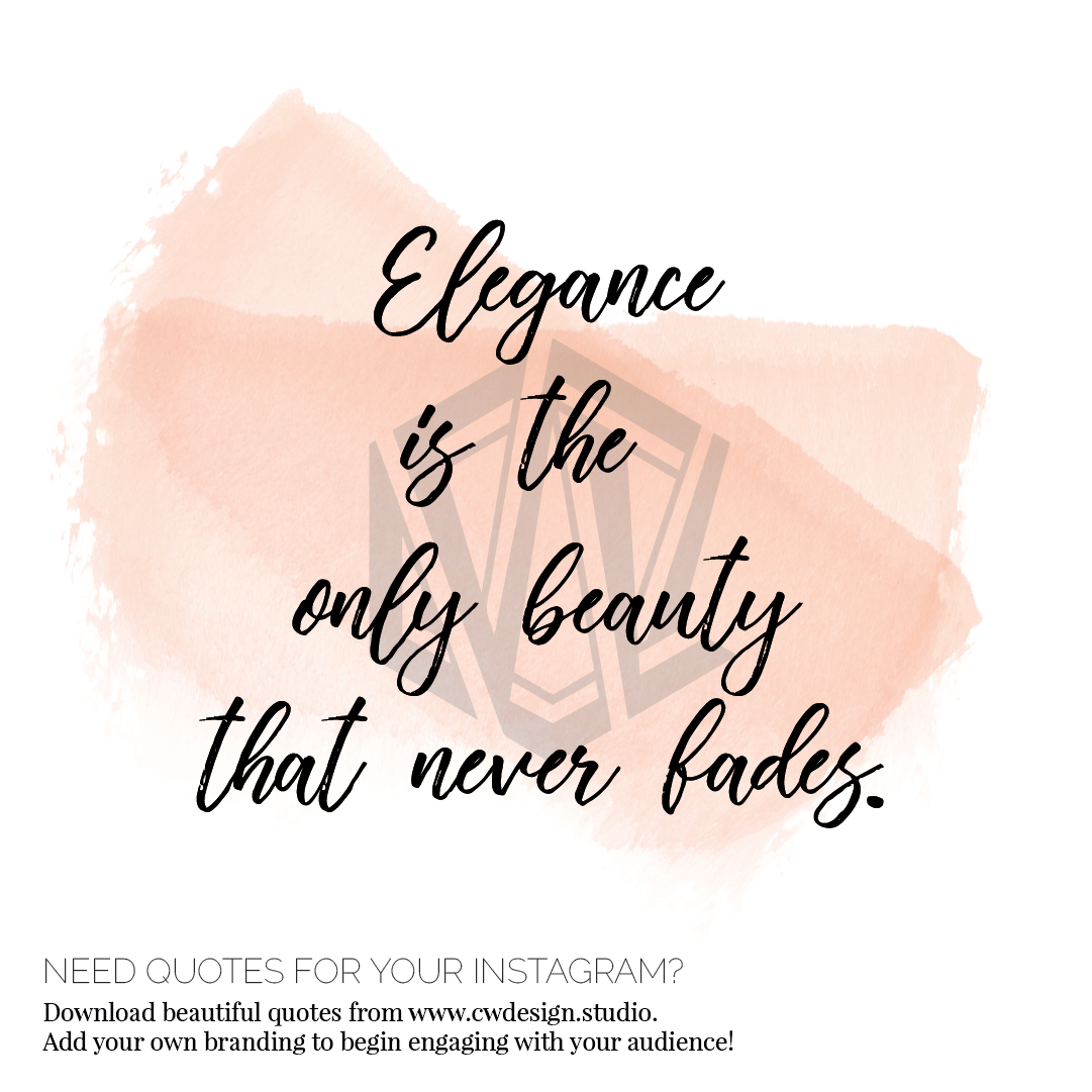 Beauty Font For Instagram: 52 Beauty Quotes For Instagram, Beauty Bloggers, Beauty