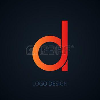 logo lettre d logo lettre D: Vector illustration of logo letter d. Illustration  logo lettre d