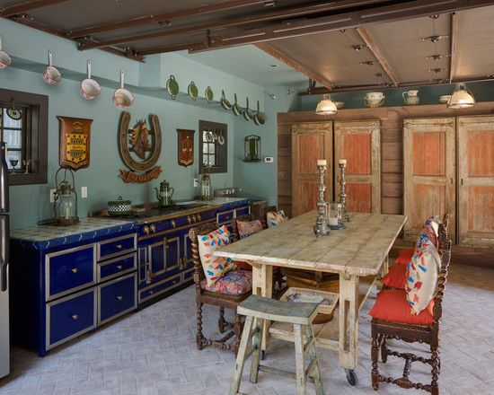 Rustic Mexican Kitchen Design Pictures Remodel Decor