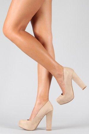40626b372d05 perfect nude shoe! I love the chunky heel