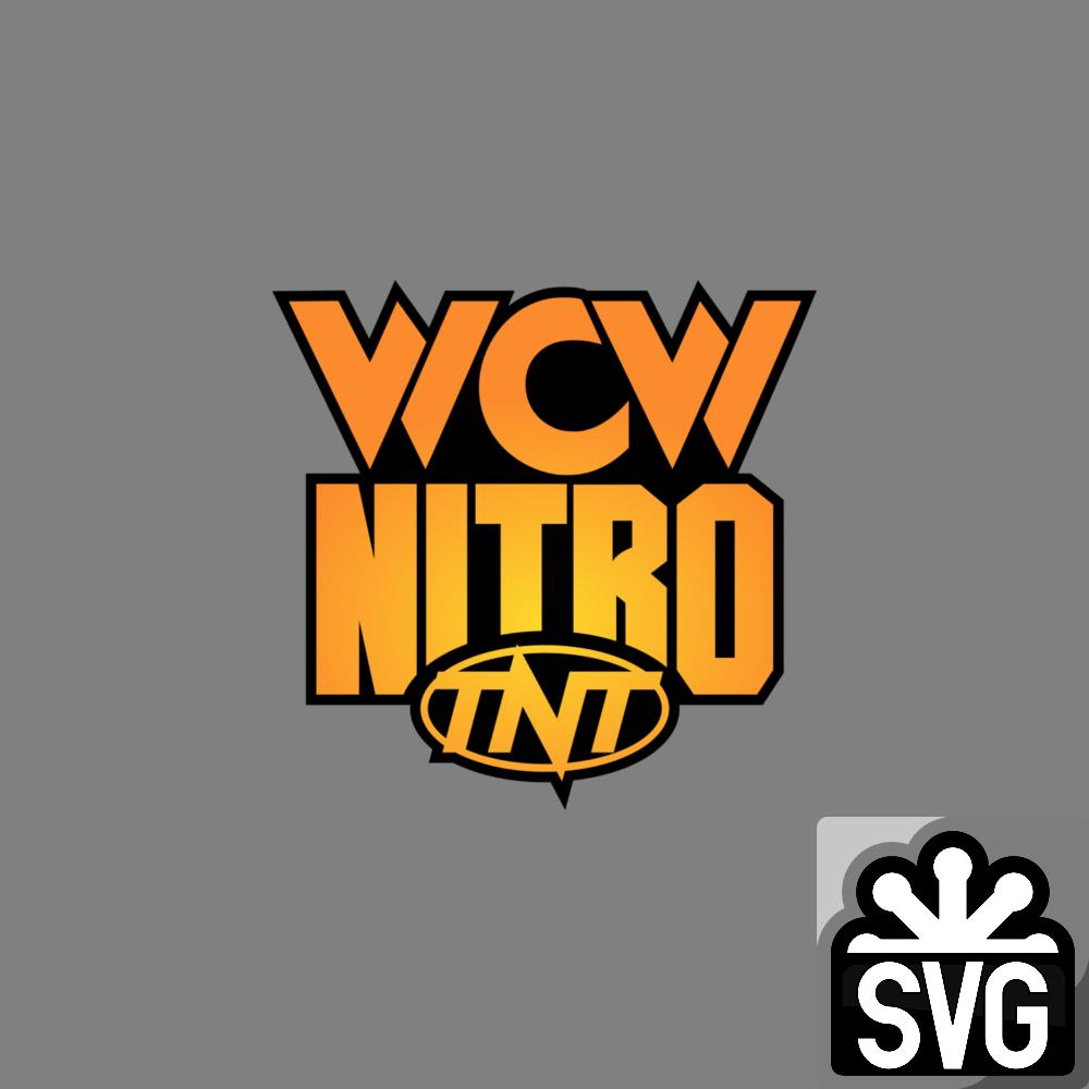 Wcw Nitro 1995 1999 Tnt Logo 2 Svg By Darkvoidpictures On Deviantart Nitro Wcw Svg