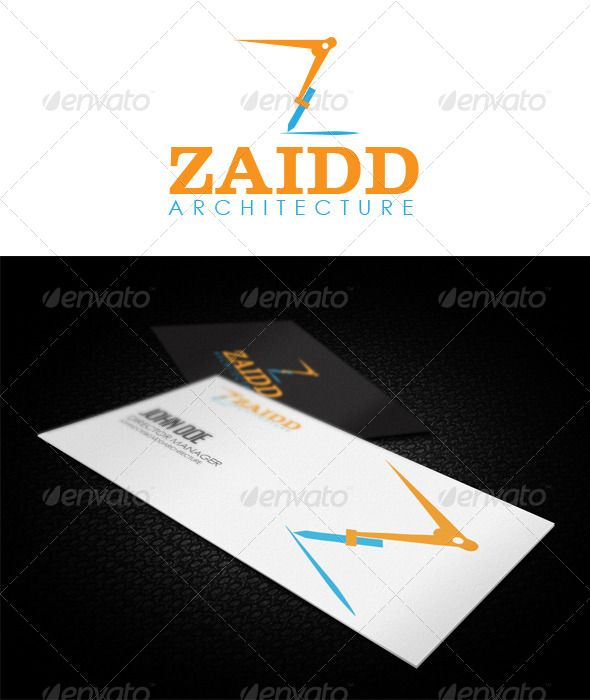 Buy Zaidd Architecture Logo Mock Up By Penxelstudio On GraphicRiver A Specially Made For Or Interior Design Firms