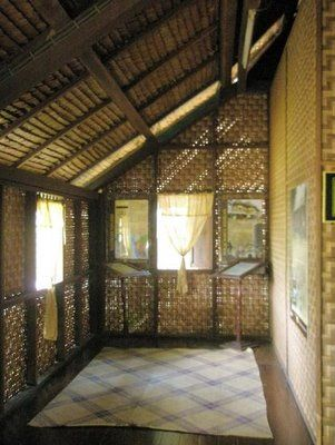 A Traditional Old Malay House Verandah Provides Great