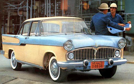 Carros Simca Chambord Anos 50 Meu Sogro Tinha Um Era Muito