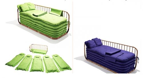 12 Ideen für kreatives Schlafsofa Design für Ihr modernes Interieur