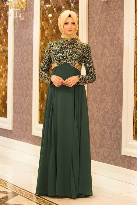 Tesetturlu Abiye Elbiseler Hakim Yaka Lacivert Abiye Elbise Tesetturisland Com Outfit Model Pakaian Model Pakaian Hijab Dan Pakaian Wanita