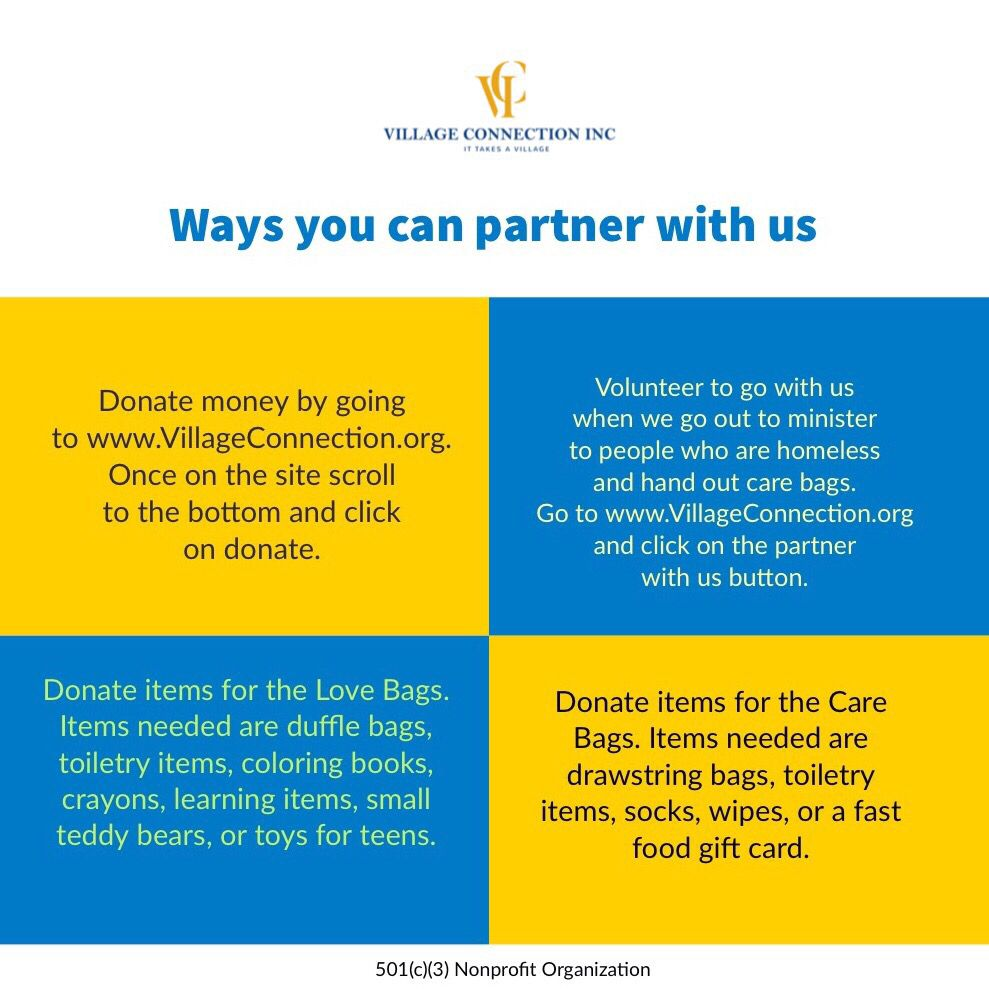 There are many ways you can partner with us. No donation