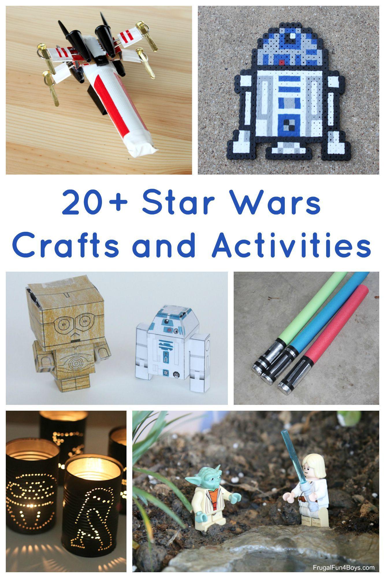 star wars crafts and activities for kids activit franck et bricolage enfant. Black Bedroom Furniture Sets. Home Design Ideas