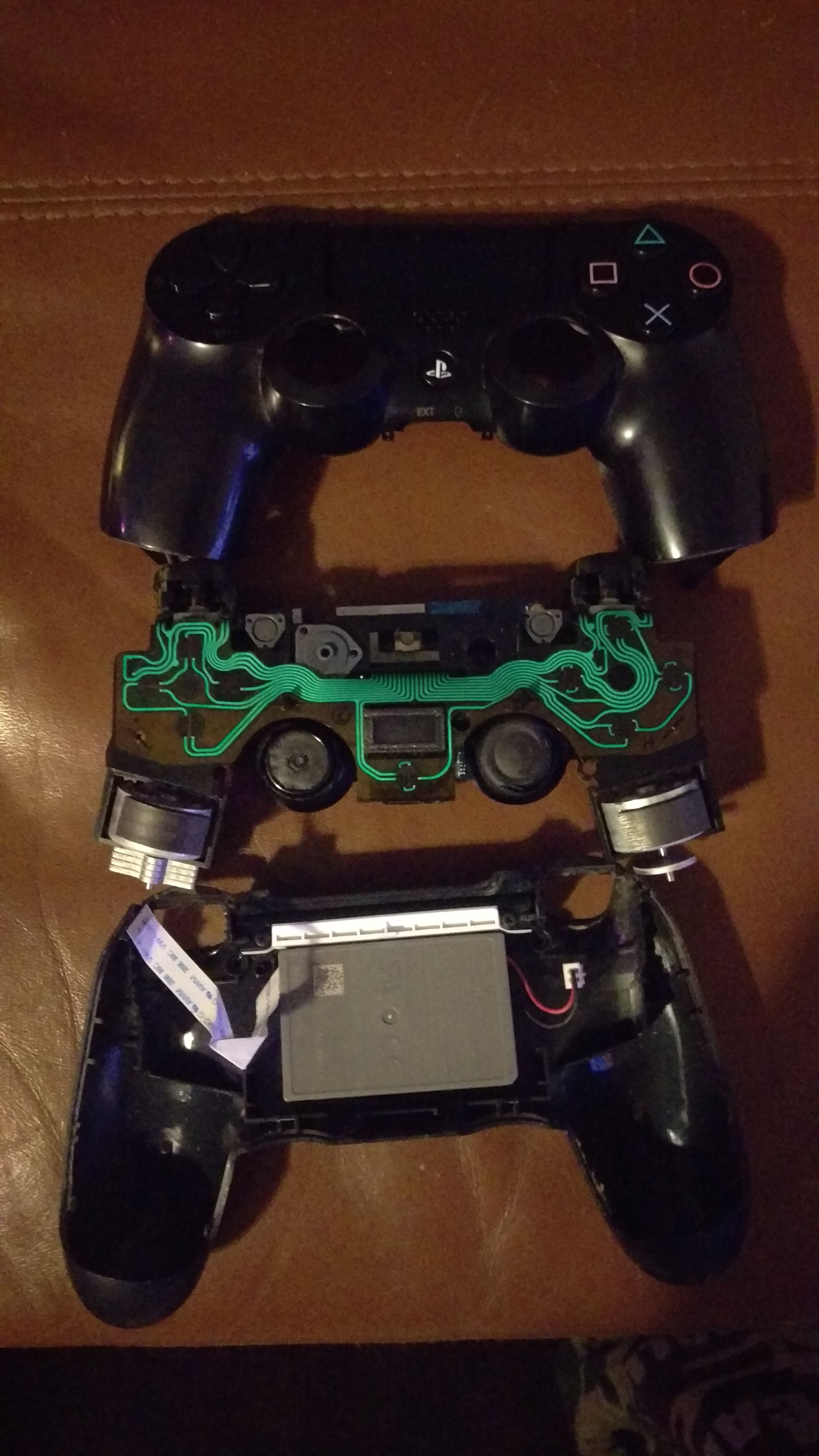 Took my PS4 controller apart trying to fix tea damage. | Ps4 controller,  Ps4, Gamer life