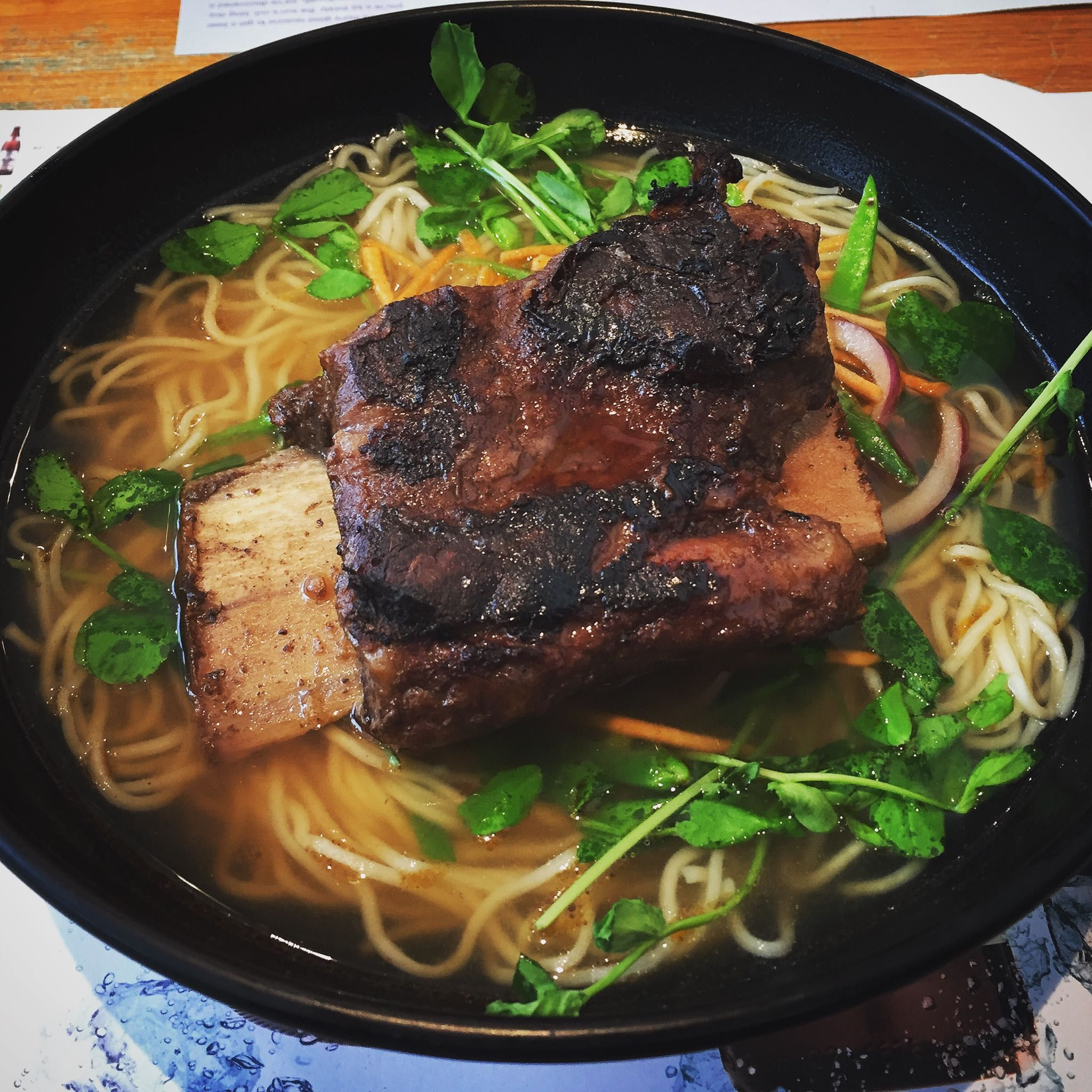 Beef Short Rib Ramen Noodle Soup Oc Recipes Food Cooking