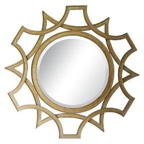 Lazy Susan 40 in. Gold Mirror : Target