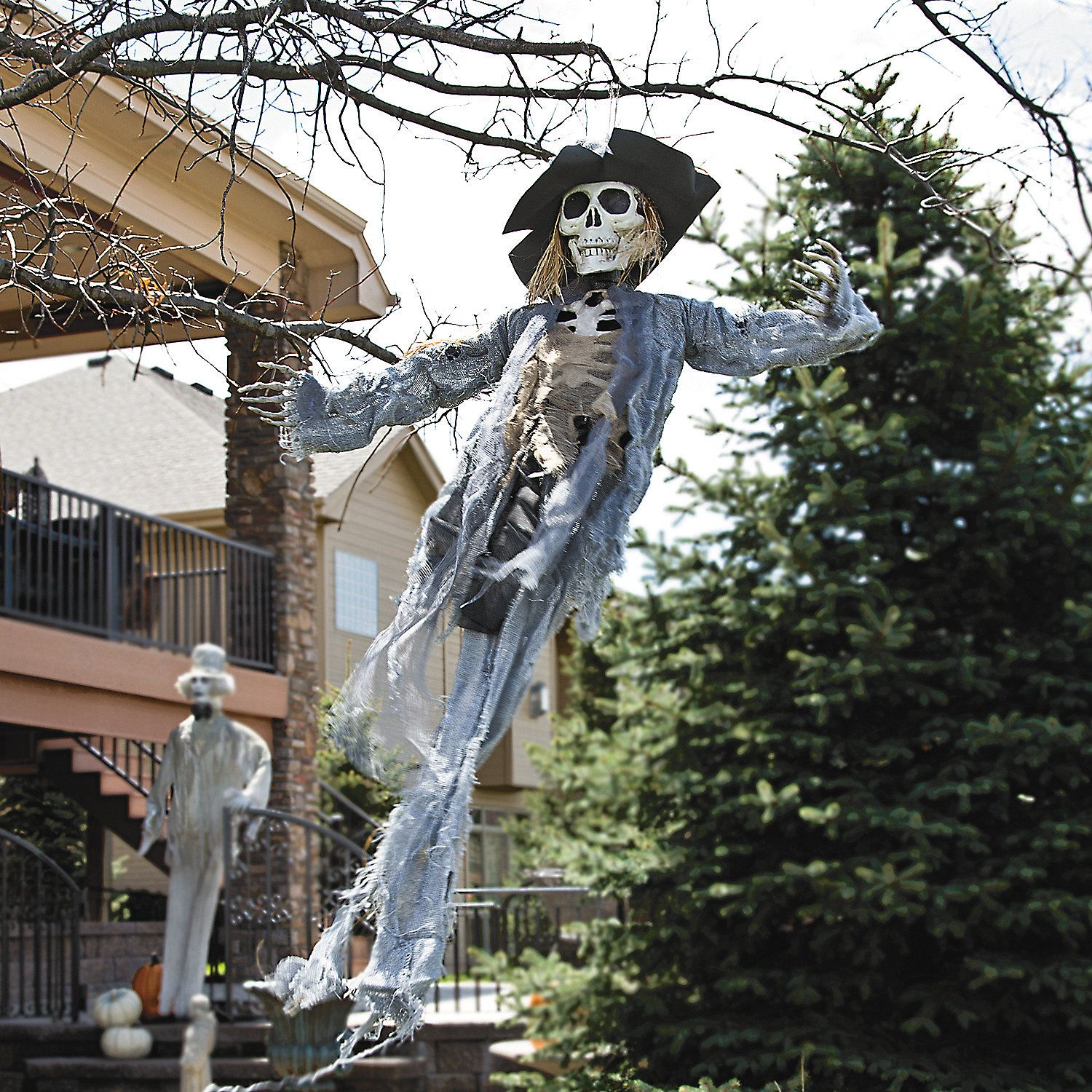 Hanging scarecrow halloween decoration discontinued