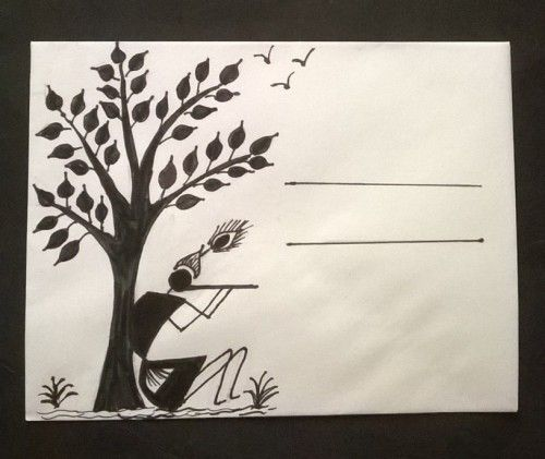 Easy Warli Painting Designs On Paper Valoblogi Com