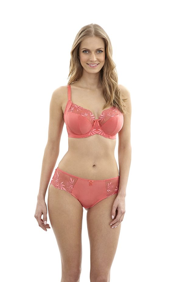 aba3c8d72d5 NEW Hepburn full cup bra and short in Coral
