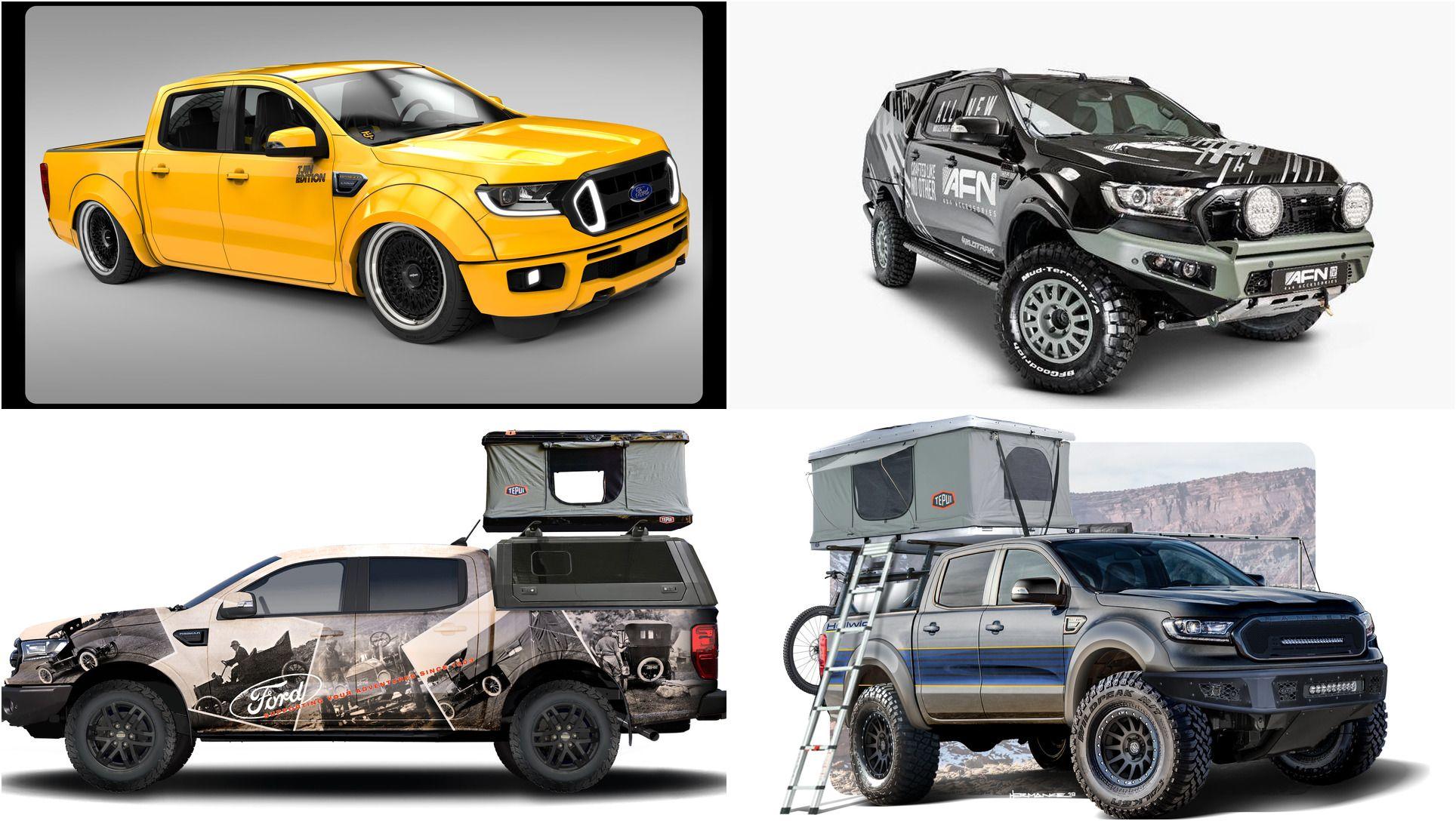 Custom ford ranger sema 2019 lineup top speed custom