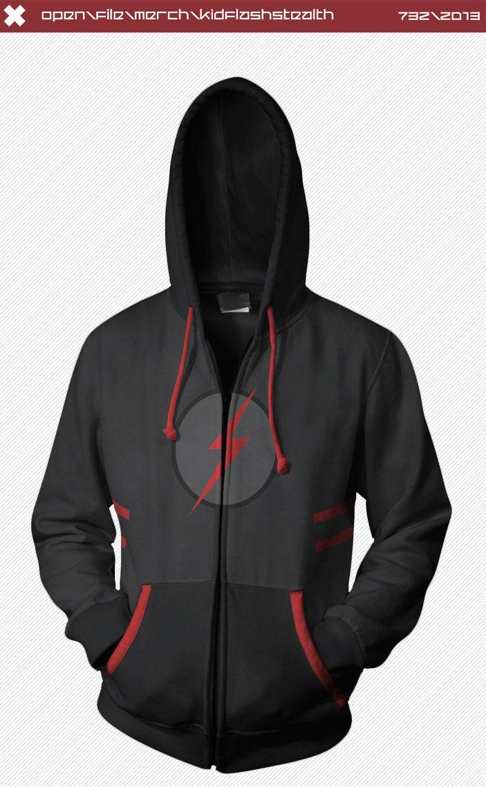 6c3225688 kid flash  hoodie display by seventhirtytwo-d65l55c Kid Flash