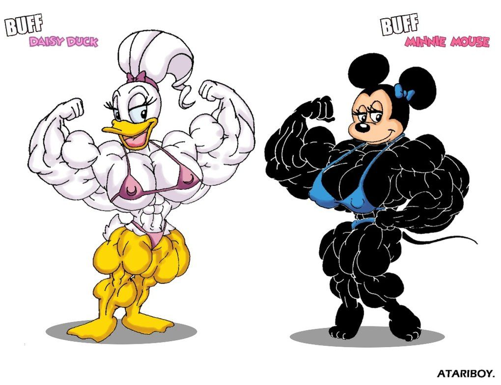 Minnie Mouse Daisy Duck deviantART | Minnie and Daisy Super Sized. by Atariboy2600
