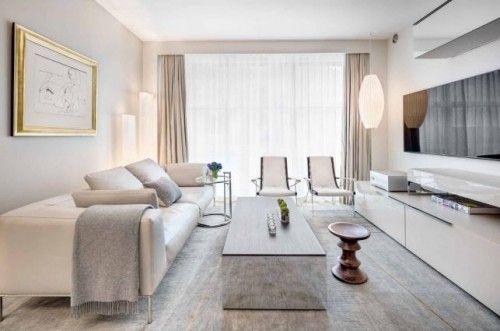 Fantastisch Wohnzimmer Einrichten Ideen Helle Farben Geräumig