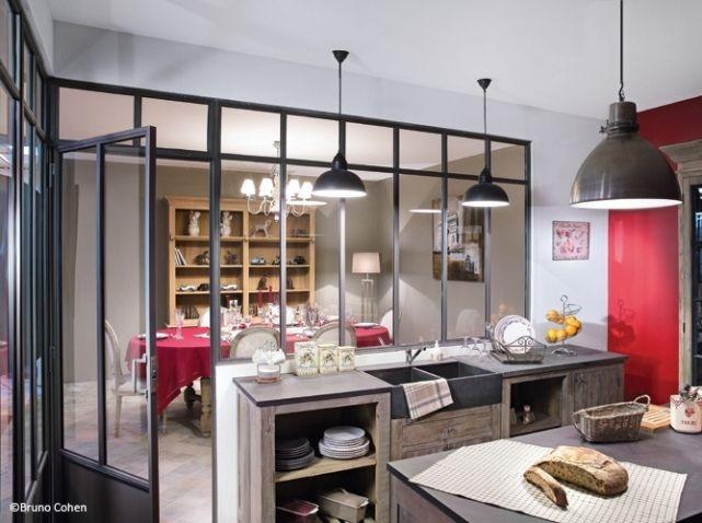 Évier à hauteur des meubles, Organisation Cuisine Pinterest