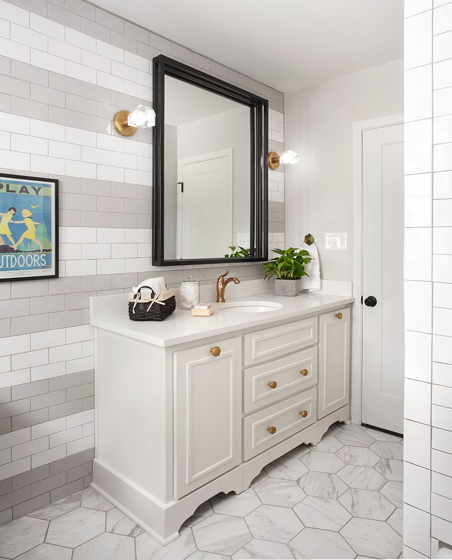 Episode 08 - The Plain Jane House | Subway tiles, Walls and Bathroom ...