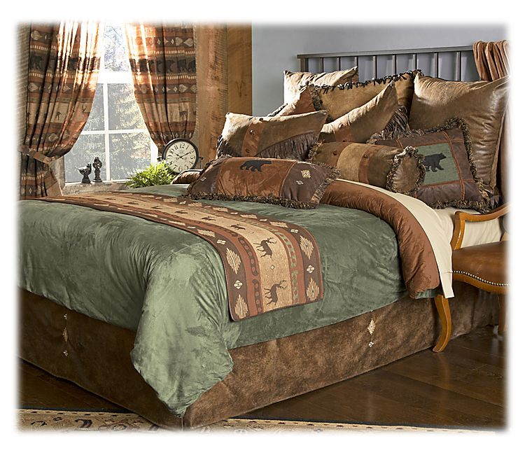 Northern Pine Collection Comforter Set Bass Pro Shops The Best