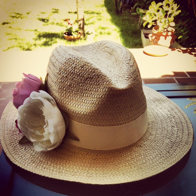 101571ee06542 Resultado  Sombreo Panameño customizado con flores