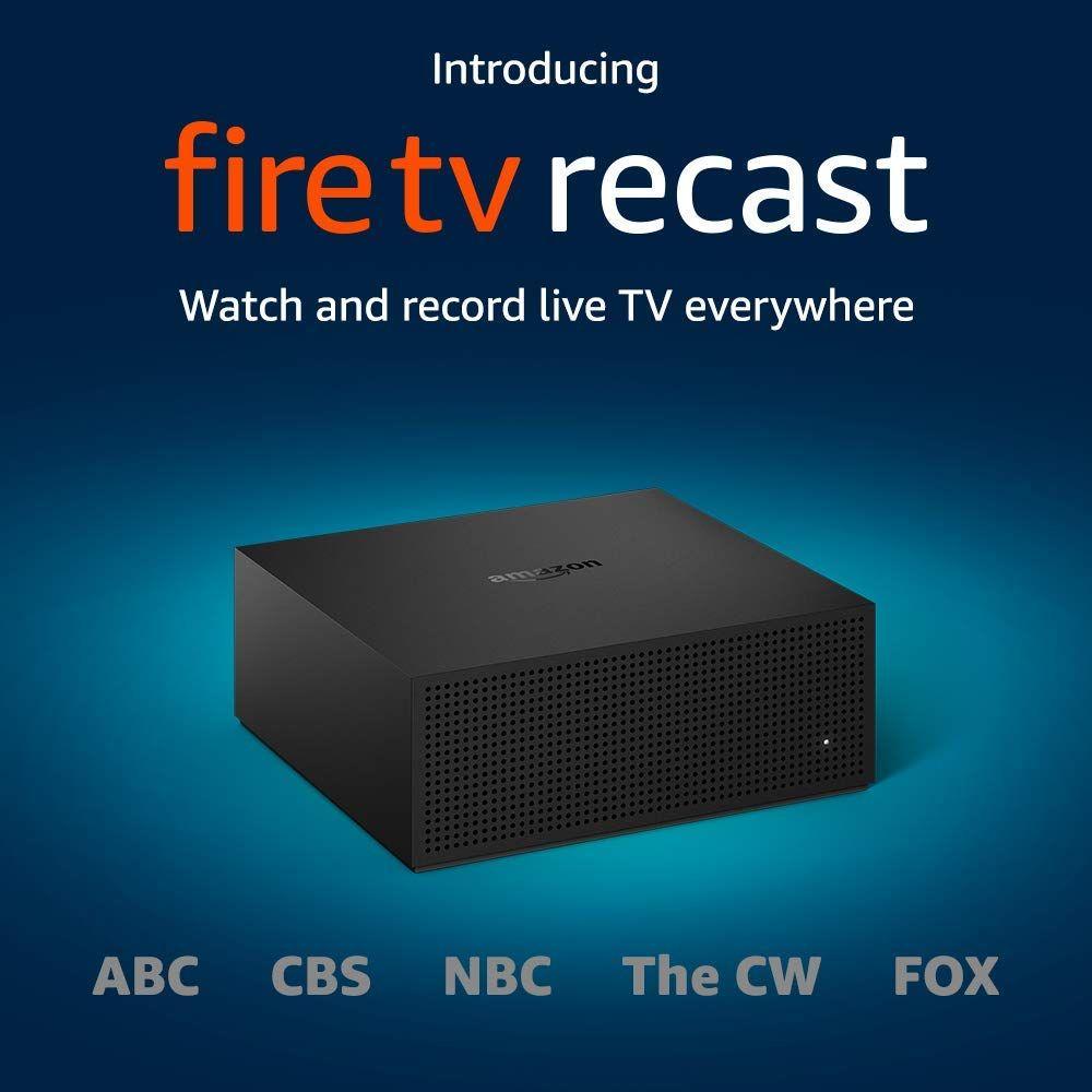 Amazon Fire TV Recast OvertheAir 500GB DVR for 189.99