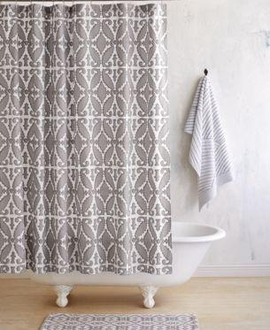 John Robshaw Khoma Shower Curtain Reviews Shower Curtains