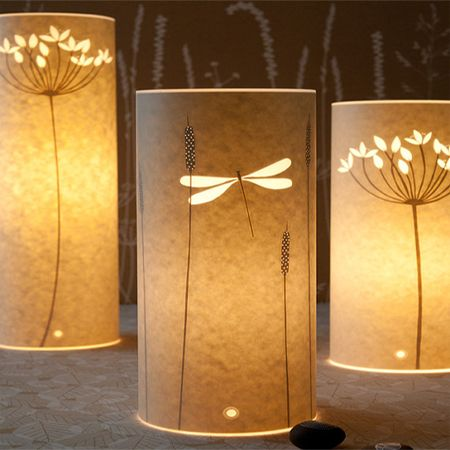 Take A Look At These Beautiful Table Lamp Designs By Hannah Nunn. The Lamps  Are Made Of Parchment Or Wax Paper And Although Hannah Uses A Laser To Cut  Out ...