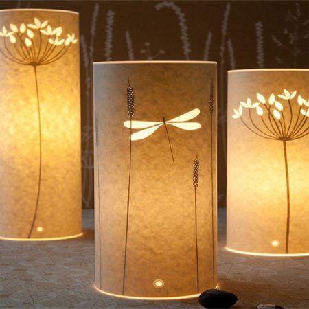 Parchment Table Lamp Wax Paper Paper Lamp Paper Lanterns Lamp