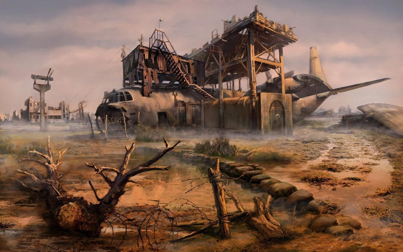 "(Open RP, be her or someone else) I hung my feet over the end and look at the barren wasteland around us. It was amazing what an apocalypse could do in a year. My sister stood beside me as I heard the yells and screams of the mutated creatures finding their nightly prey ""Mark, we should get inside."" She said, I nodded and threw my can into the distance before getting up and crawling after her into the airplane we had decked out as our home."