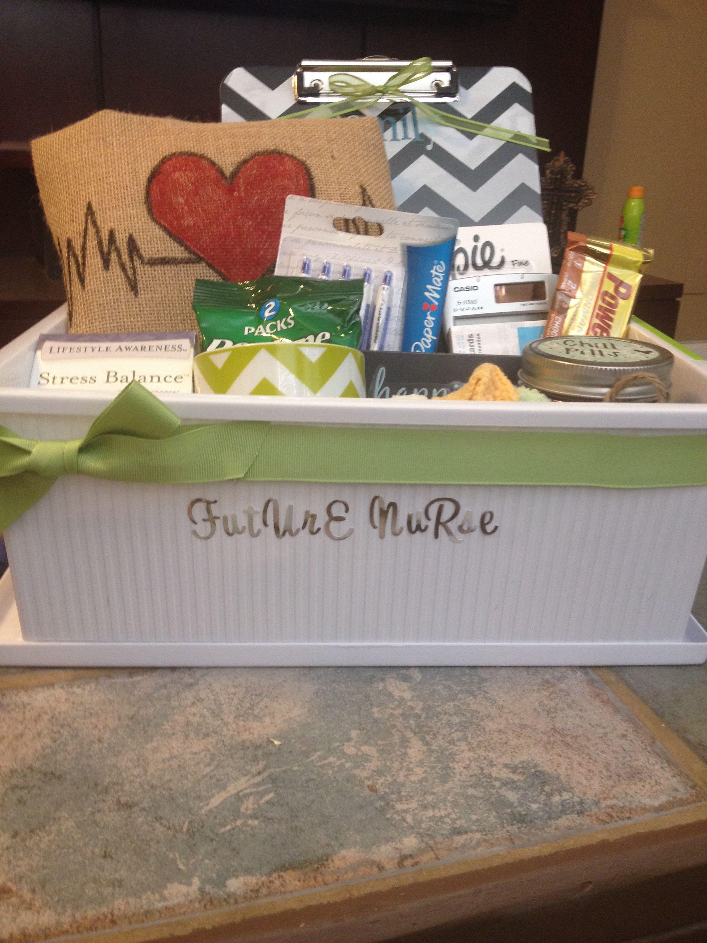 Nursing Student Gift Basket Crafts And Things Ive Made Nurse Kit Standart