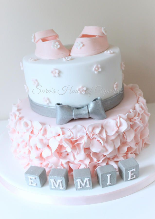 Pasteles Para Baby Shower Nino : pasteles, shower, Pretty, Shower, Pasteles, Shower,, Niña,, Pastel, Tortilla