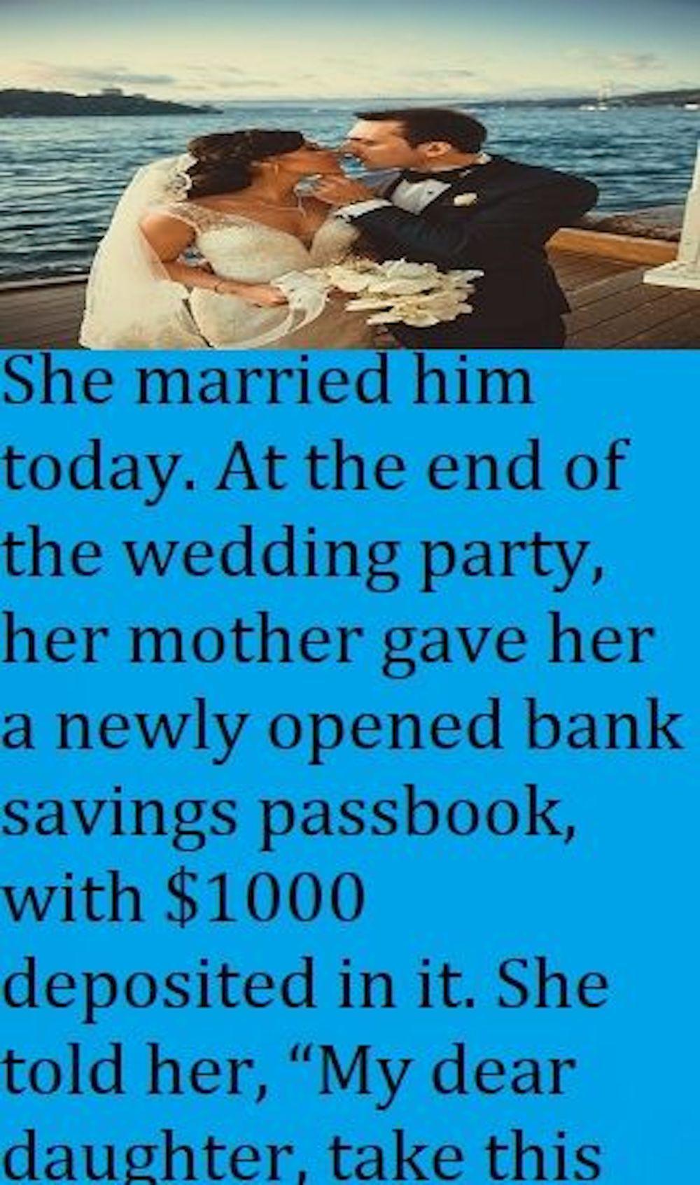 The Wedding Passbook
