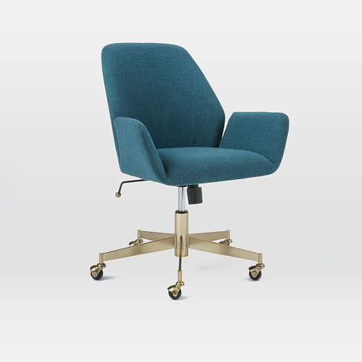 Aluna Upholstered Office Chair Upholstered Office Chair Comfy
