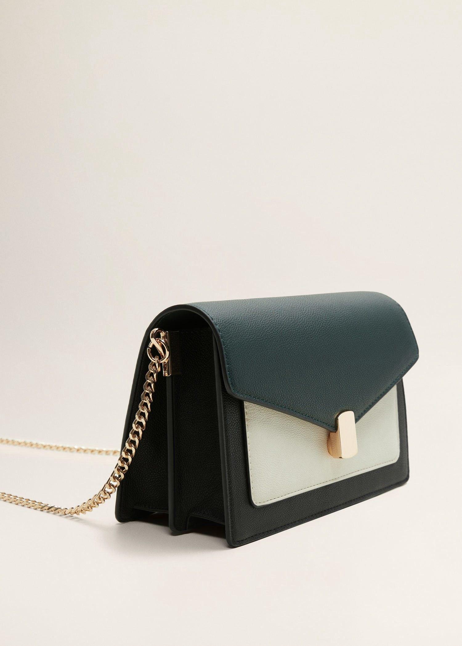 8befc2d265ae Mango Chain Cross Body Bag - Black One Size